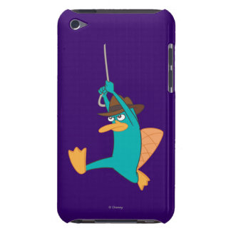 Agent P Swinging from Rope iPod Touch Case-Mate Case