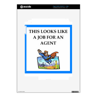 AGENT SKIN FOR iPad 2