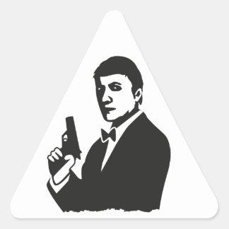 Agent Triangle Sticker