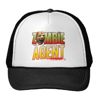 Agent Zombie Head Mesh Hat