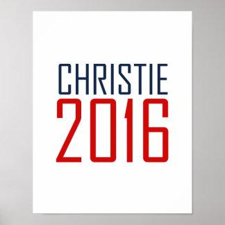 AGENTE 2016 - .PNG DE CHRISTIE PÓSTER