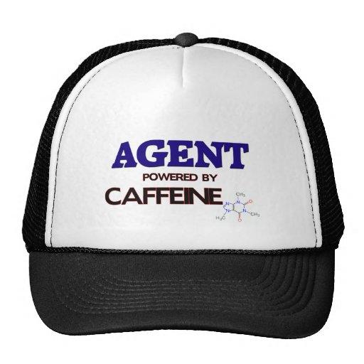 Agente accionado por el cafeína gorros bordados