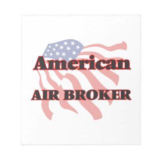 Agente americano del aire bloc