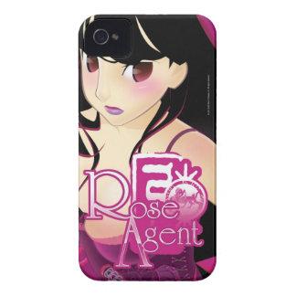 Agente color de rosa - caso de Barely There del Case-Mate iPhone 4 Carcasa