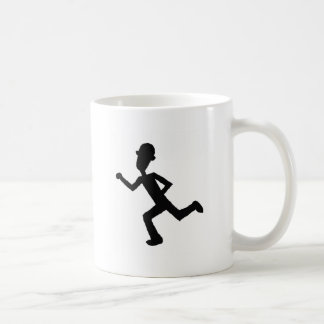 Agente corriente tazas de café