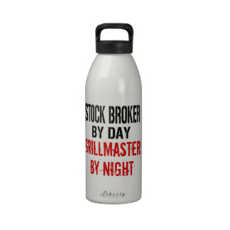 Agente de bolsa Grillmaster Botellas De Agua Reutilizables