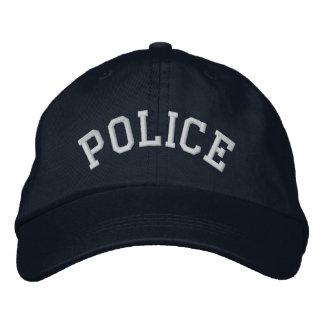 Agente de la autoridad LEO del poli del oficial de Gorros Bordados