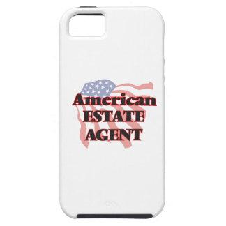Agente de la propiedad inmobiliaria americano iPhone 5 funda