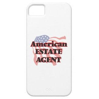 Agente de la propiedad inmobiliaria americano iPhone 5 fundas