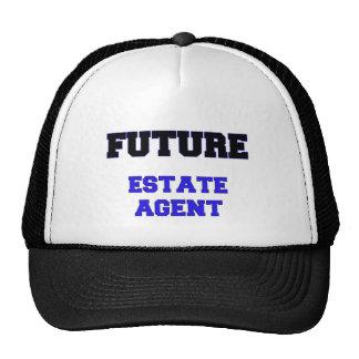 Agente de la propiedad inmobiliaria futuro gorro de camionero