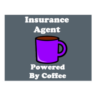 """""""Agente de seguro"""" accionado por el café Tarjeta Postal"""