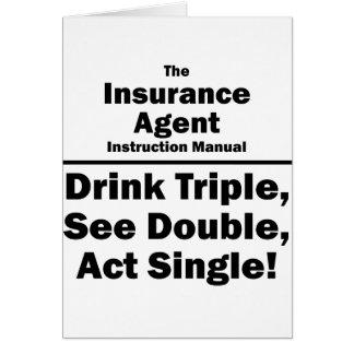 agente de seguro tarjeton