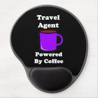 """""""Agente de viajes"""" accionado por el café Alfombrilla De Raton Con Gel"""