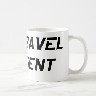 Agente de viajes del tiempo tazas de café