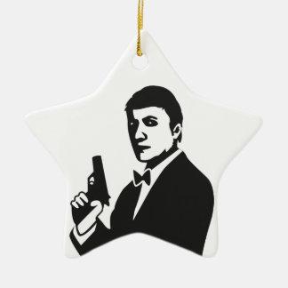 Agente Ornamentos De Navidad