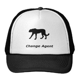 Agente del cambio del guepardo gorro de camionero