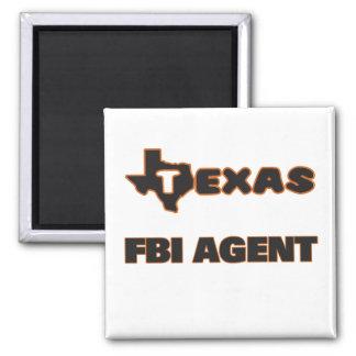Agente del FBI de Tejas Imán Cuadrado
