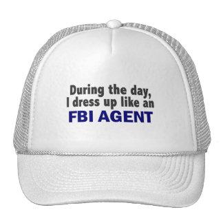 Agente del FBI durante el día Gorra