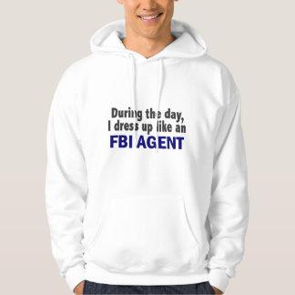 Agente del FBI durante el día Sudadera Pullover