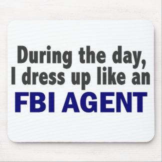 Agente del FBI durante el día Tapete De Ratones