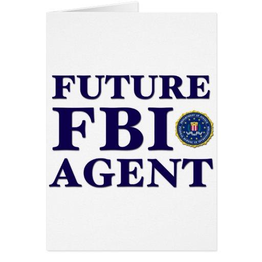 Agente del FBI futuro Felicitación
