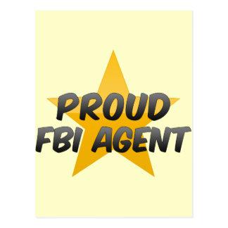 Agente del FBI orgulloso Tarjetas Postales