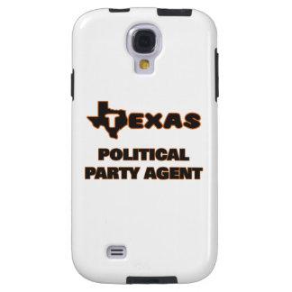 Agente del fiesta político de Tejas Funda Para Galaxy S4