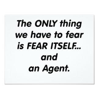 agente del miedo invitacion personalizada