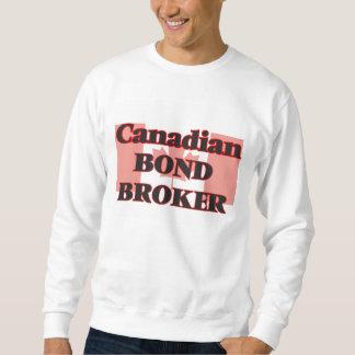 Agente en enlace canadiense sudadera