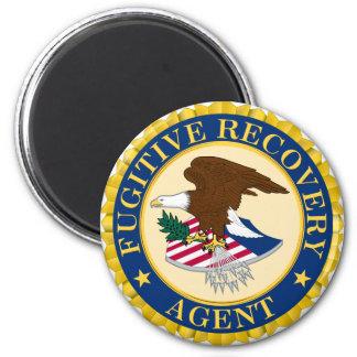 Agente fugitivo de la recuperación imán redondo 5 cm