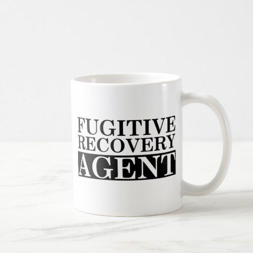 Agente fugitivo de la recuperación taza de café