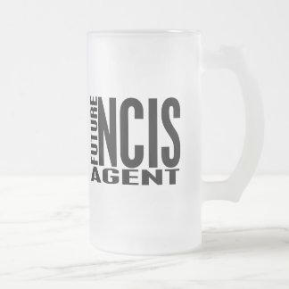 Agente futuro de NCIS Taza De Cristal