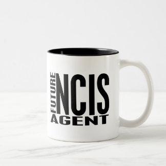 Agente futuro de NCIS Taza De Dos Tonos