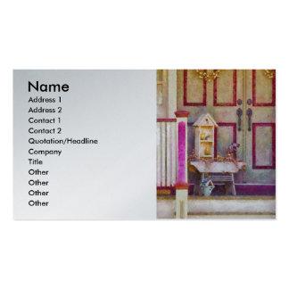 Agente inmobiliario - el colector del birdhouse plantillas de tarjetas de visita