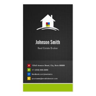 Agente inmobiliario - innovador creativo superior tarjetas de visita