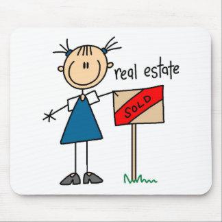 Agente inmobiliario mousepads