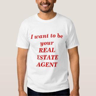Agente inmobiliario playera