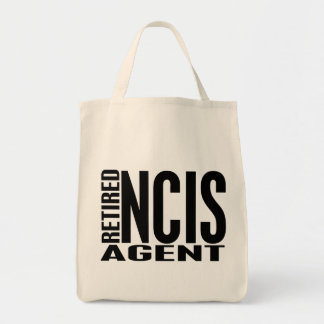 Agente jubilado de NCIS Bolsa Tela Para La Compra