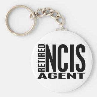 Agente jubilado de NCIS Llavero Redondo Tipo Pin