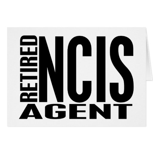 Agente jubilado de NCIS Tarjetón