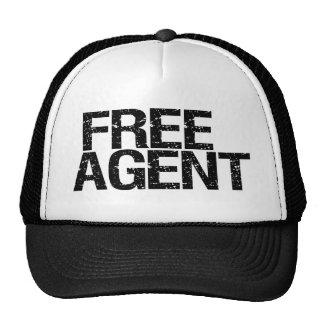 Agente libre (solo) gorro de camionero