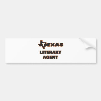 Agente literario de Tejas Pegatina Para Auto