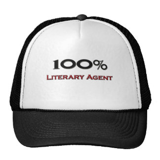 Agente literario del 100 por ciento gorra