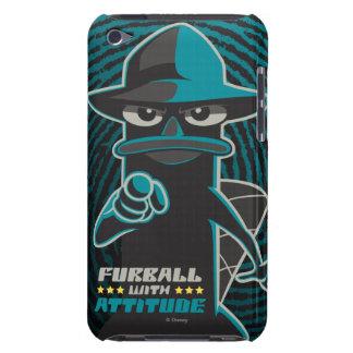 Agente P - Furrball con el itude Barely There iPod Carcasa
