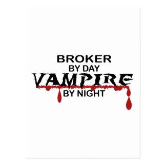 Agente por día, vampiro por noche postales