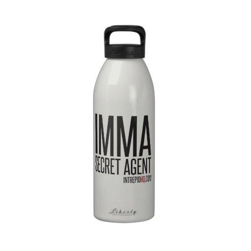 Agente secreto de Imma Botella De Beber