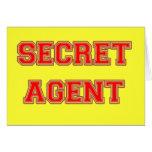 Agente secreto felicitaciones