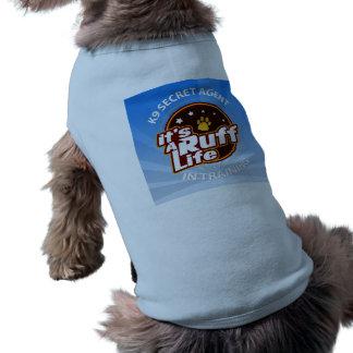 Agente secreto K9 en las camisetas sin mangas L Playera Sin Mangas Para Perro