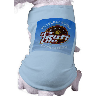 Agente secreto K9 en las camisetas sin mangas XL Playera Sin Mangas Para Perro