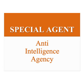 Agente secreto muy especial (2) postal